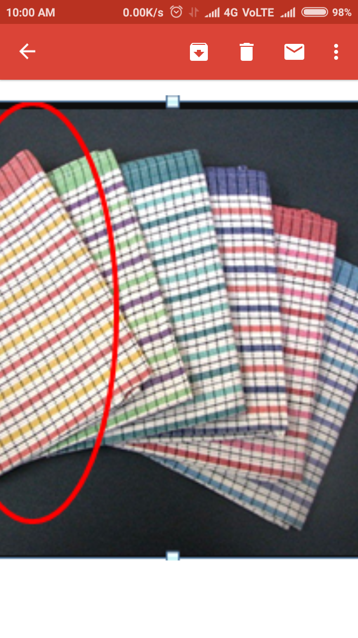check tea towel
