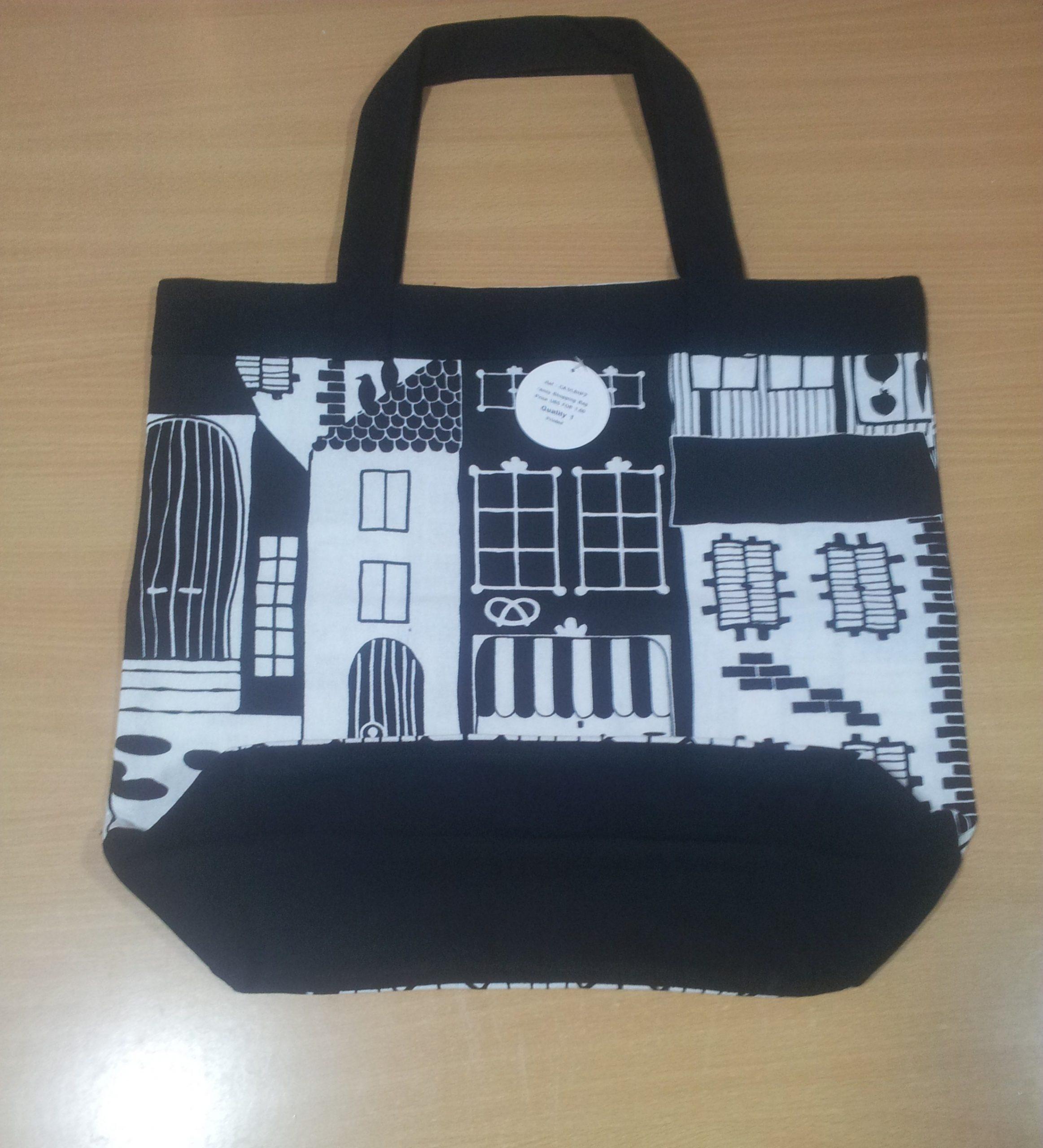 fancy shopping bags in 3 qualities