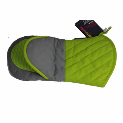 green oven glove new 2
